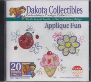 Dakota Collectibles 970307 Applique Fun Multi-Formatted CD