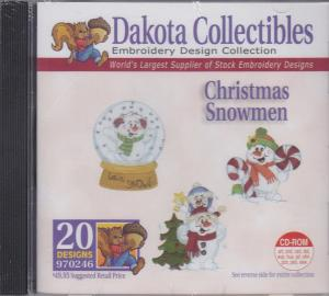 Dakota Collectibles 970246 Christmas Snowman Sticker Multi-Formatted CD