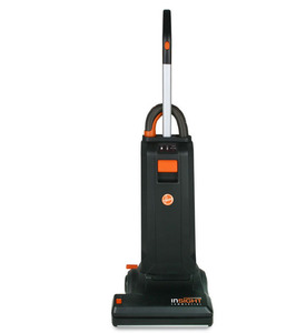 "Hoover, CH50102, Insight 102, 15"" Bagged, Upright, HEPA, Vacuum Cleaner, 13"" Path, 10A, 69dB, LED Diagnostics, 50'Cord, 4Heights, AutoSealBag, On Board Tools"