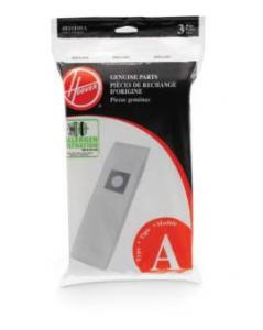Hoover 4010100A Allergen Filter Type A Vacuum Cleaner Dust Bags Pack of 3