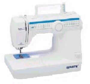 """White 4075 40-Stitch Function, One-Step Buttonhole """"Jeans"""" Machine, Learn to Sew Video"""