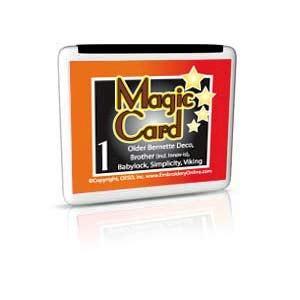 Magic Box Mcard Bv2 Rewritable Blank Embroidery Card In