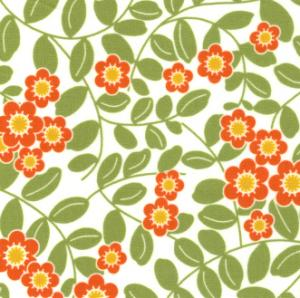 Fabric Finder 1063 Green Gold Floral 15 Yd Bolt 9.34 A Yd 100% Pima Cotton Fabric