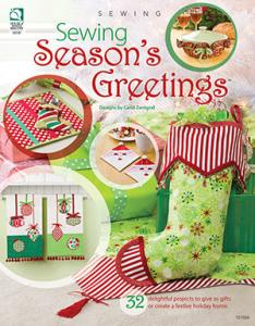 Sewing Season's Greetings 45188 Christmas Projects Book