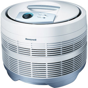 Honeywell 50150 Enviracare Air Purifier, HEPA Purification Technology, Covers 225Sq. ft., 3 Speeds, 0% Post Consumer Waste, Remove Smoke, Dust,Pollen