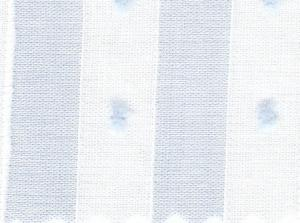 "Bear Threads Swiss Voile Stripe Dotted Swiss Blue 10 Yd Bolt  38.99 A Yd 100% Cotton 63"" Wide"