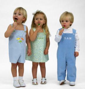 Childrens Corner CC274 William And Winnie Romper Jumper Sewing Pattern, Size 12mo-4Yr