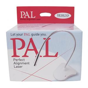 PAL Perfect Alignment Goose Neck Laser Light, Base USB, Exact Centering for All Embroidery Hoops PAL0100, 3AAA Batteries, From Designs in Machine Emb