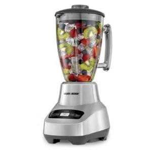 Black and Decker BL3000S Table Top Blender, 1.50 Quart, 6 Speed Settings, Stainless Steel Blade, Die-Cast, Dishwasher Safe Component