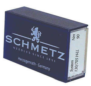 Schmetz, Germany, 130, 705H-LL, Bulk, Box, 100, LEA-C, Leather, Vinyl, Needle, Size, 10-18, Wedge, Point, Slice, No, Punched, Round, Holes, Home, Sewing, Machine