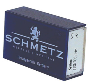Schmetz 130M 130/705HM Microtex Violet Band Sharp 100 Needles, Choose Size 60/8, 70/10, 80/12, 90/14 or 100/16