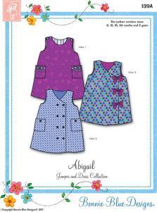 Bonnie Blue BBDP139A  Abigail Sz 6mo-3yrs