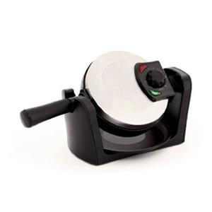 """West Bend 6201 Belgian Waffle Maker, Makes 4 Waffles, 7"""" Waffle Plate, Non-Stick, Cool Touch Handle, Adjustable Temperature Control"""