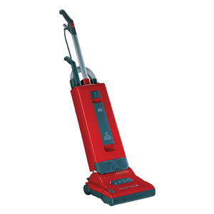SEBO Automatic X4 9558AM Red Upright HEPA Vacuum Cleaner 1300W, 40'Cord, Elect Height Adj, LifeBelt