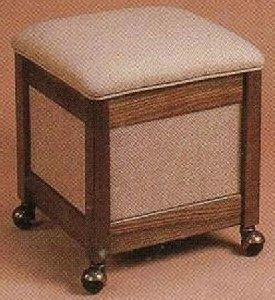 Stump 21100 Comfee Deluxe Hassock with Underseat Storage
