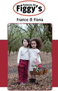 Figgys PAF09 Franco and Fiona Vest & Pinafore Size: 18M-6/7YR