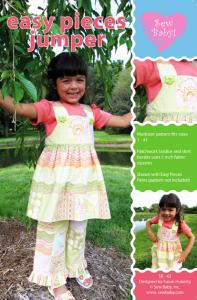 Sew Baby SB42 Easy Pieces Jumper, size 1-4T Pattern