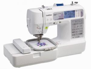 "Brother, SE400, Refurbished, 4, Freebies, 4x4"", Embroidery, USB, Cable, 67, Stitch, Sewing, Machine, 70, Designs, 5, Fonts, 120, Borders, Threader, Trimmer"