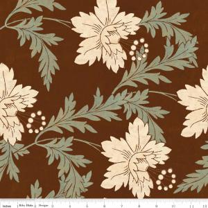 "Riley Blake Designs C2710 Brown Grandma's House Main 15Yd Bolt 7.34 A Yd  100% Cotton  45"" Fabric"