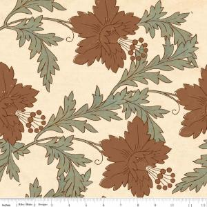 "Riley Blake Designs Grandma's House  Main C2710 Cream 15Yd Bolt 7.34 A Yd 100% Cotton  45""Fabric"
