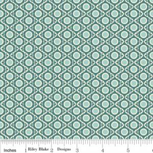 "Riley Blake Designs C2702 Blue So Sophie Tapestry 15Yd Bolt 7.34 A Yd 100% Cotton 45""Fabric"
