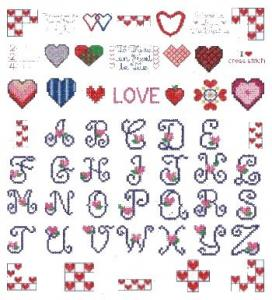 Down Home Dreams 174 Cross Your Heart Embroidery Designs Floppy Disk