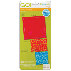 AccuQuilt, GO!, 55018, Value, Die, Square, Traingle, cut, quilt
