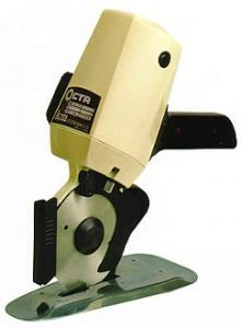 "KM RS-100 OCTAgonal Knife Blade 4"" Rotary Stand Up Cloth Cutter Cutting Machine RS100nohtin"