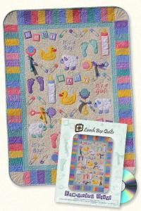 Lunch Box Quilts QP-EB-1 Everything Baby Applique Embroidery Designs CD