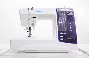 Juki HZL-K85 150-Stitch Computer Sewing Machine, 8x1-Step Buttonholes +Alphabet Lettering Font