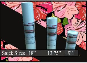 """Stuck S910, Adhesive, Sticky, TearAway, Stabilizer, 9"""" x 10' Roll"""