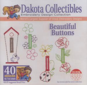 Dakota Collectibles 970388 Beautiful Buttons Designs  Multi-Formatted CD
