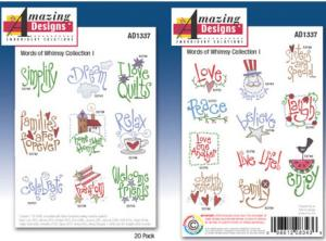 Amazing Designs / Great Notions 1337 Words of Whimsey Multi-formatted CD