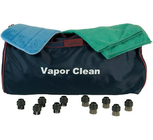 Vapor Clean Bonus Pack 10 Brush Heads for TR5, 2, IV, Pro 6 Steam Cleaners