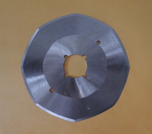 "Gemsy S-135 4"" Rotary 8 Side Cutting Knife Blade for CS100, KM RS-100 Cutters"
