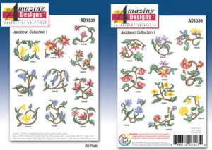 Amazing Designs / Great Notions 1339 Jacobean I Multi-Formatted CD