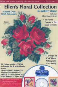 Sudberry House D7700 Ellens Floral Collection Multi-Formatted CD
