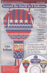 Sudberry House D5700 Around The World In 8 Balloons Multi-Formatted CD