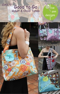Olive Ann Designs OAD77 Good To Go Totes for Adult and Child