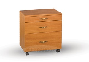 Fashion, Roberts, 38, Stackable, 3, Drawer, Caddy, White, Maple, Swiss, Chocolate, 23, 3/4, Wide, 17, Deep, 25, High