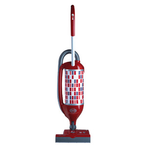 "SEBO 9809AM White Upright Vacuum Cleaner,1300W, 102CFM, 90"" Water Lift, Parquet Brush,Telescope Hand"