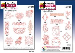 Amazing Designs / Great Notions 1344 Intricate Outline Collection Multi-Formatted CD