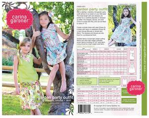 Carina Gardner CG005 Garden Party Outfit sz 2T-10Yrs