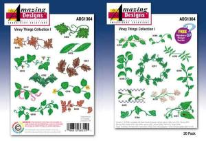 Amazing Designs / Great Notions 1364 Viney Things Collection I Multi-Formatted CD