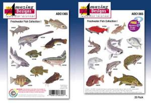 Amazing Designs / Great Notions 1365 Freshwater Fish Collection I Multi-Formatted CD