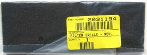 Bissell B-203-1194 Filter, Exhaust 6579 6594 Powerforce Cleanview