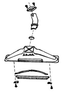 Compact Co-1001 Rug Tool Assy, Tri Starnohtin