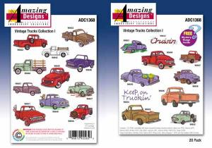 Amazing, Designs, Great, Notions, 1368, Vintage, Trucks, Collection, I, Multi, Formatted, CD
