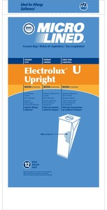 Electrolux Replacement Exr-1480 Paper Bag, Lux Discovery Upright Micro Dvc 12Pk