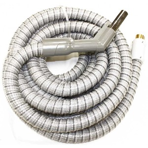 Electrolux Replacement 4351 Hose, Lux Central Vac 30' Wire Braid Direct Connect